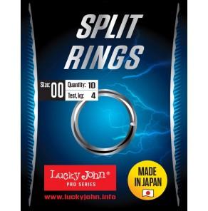 Lucky John Split Rings
