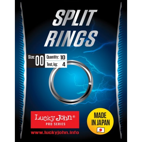 Lucky John Split Rings