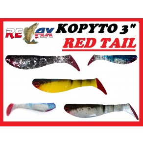 "Relax Kopyto 3"" Red Tail"