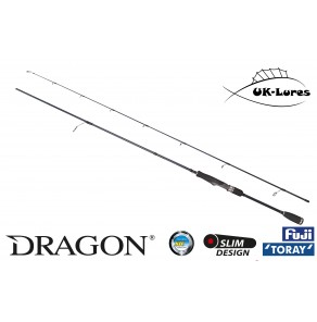 Lure Rod Dragon NanoLITE XT80C 2.13m 1-10g