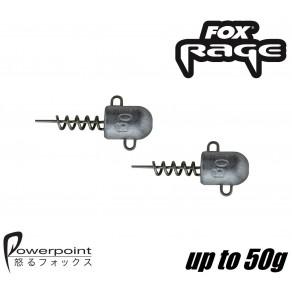 Fox Rage Corckscrew Bullet jig head