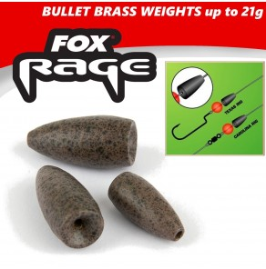 Fox Rage Brass Bullet Weights