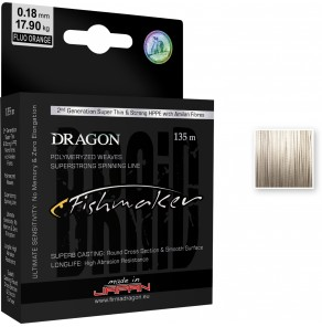 Dragon FISHMAKER Braid Toray, MADE IN JAPAN